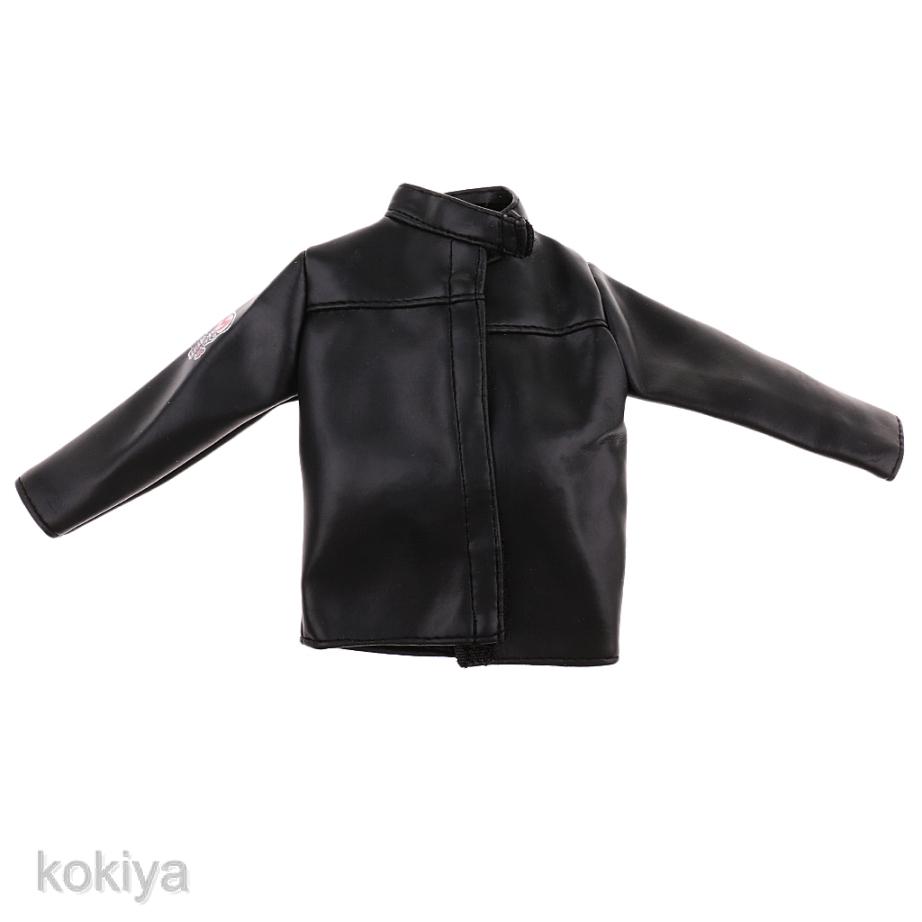 "1//6 PU Leather Jacket Vest Pants Set for 12/"" Action Figure Kumik Phicen Hot Toys"