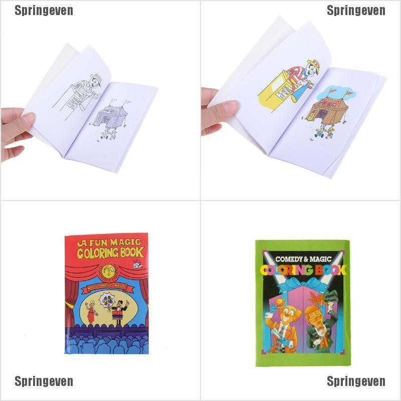 Cod Fun Magic Coloring Book Magic Tricks Best For Children Stage Magic Toy Wholesale Shopee Philippines