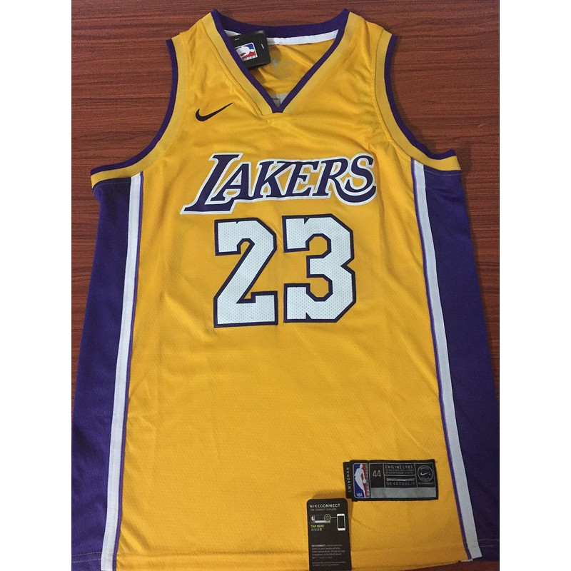 77d1bee45f90 ProductImage. ProductImage. Nike Los Angeles Lakers LeBron James NBA Jersey   23 yellow