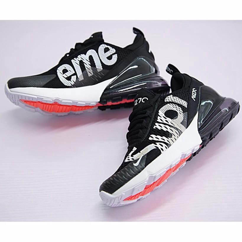 Available Nike Air Max 270 x Supreme Shoes Men Airmax 27c Ru