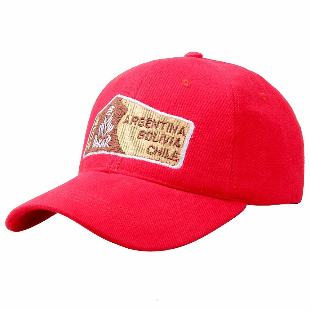 Embroidered Dhaka Red Offroad Racing Baseball Cap 8add1527522