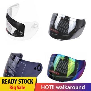 silver plated Qiilu Motorcycle Wind Shield,Helmet Lens Visor Shield Full Face Fit For AGV K1 K3SV K5