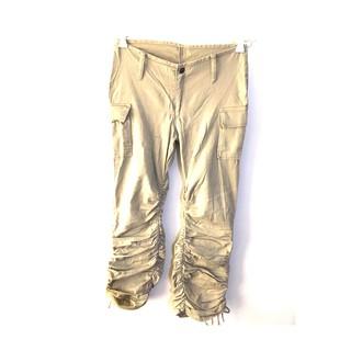 "professional sale look for footwear Made in USA Womens Beige Khaki Cargo Pants Size 28"" Waist"