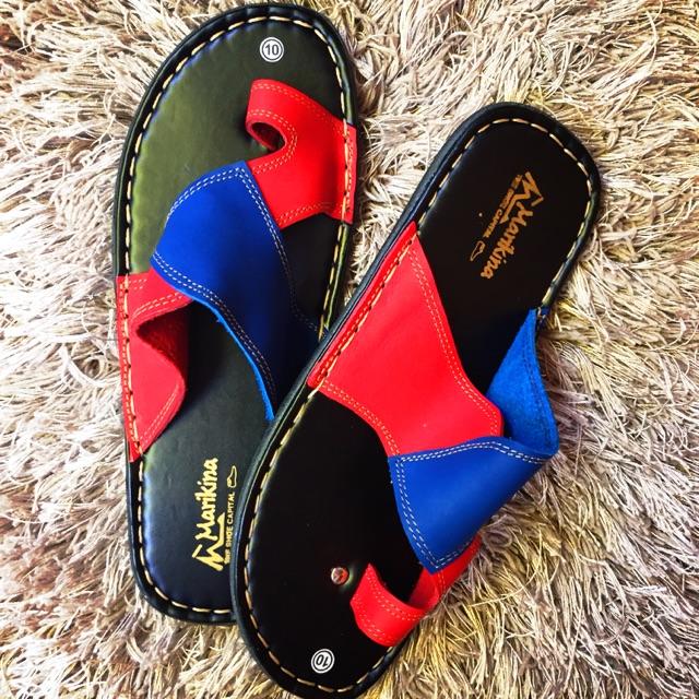 9201cd70cc46 Gawang Marikina Genuine Leather Mandals