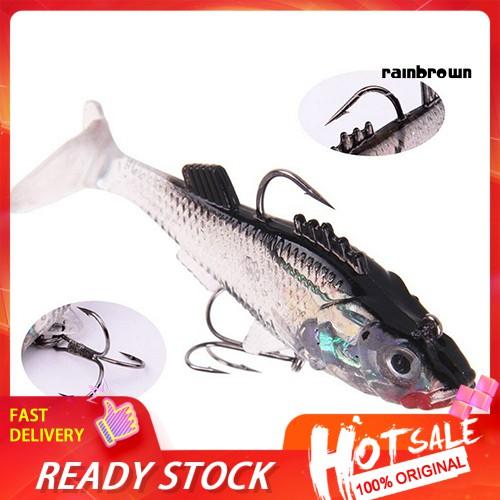 "50pcs//Set Sandworms Soft Plastic Worm Fishing Lure 2/"" Saltwater Bass Catfish"