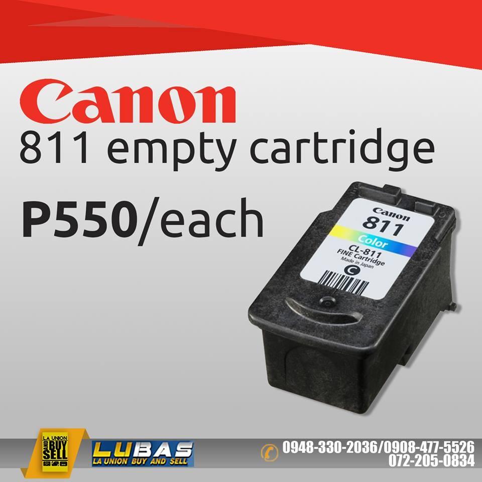 Empty Canon Pixma Cl 811 Fine Cartridge Color Ink Shopee Cl811 Original Philippines