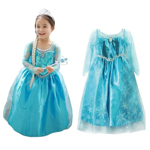 7eab943f53fd8 ProductImage. ProductImage. HOH-Fashion Girls Princess Cosplay Costume Kids  Party Dress