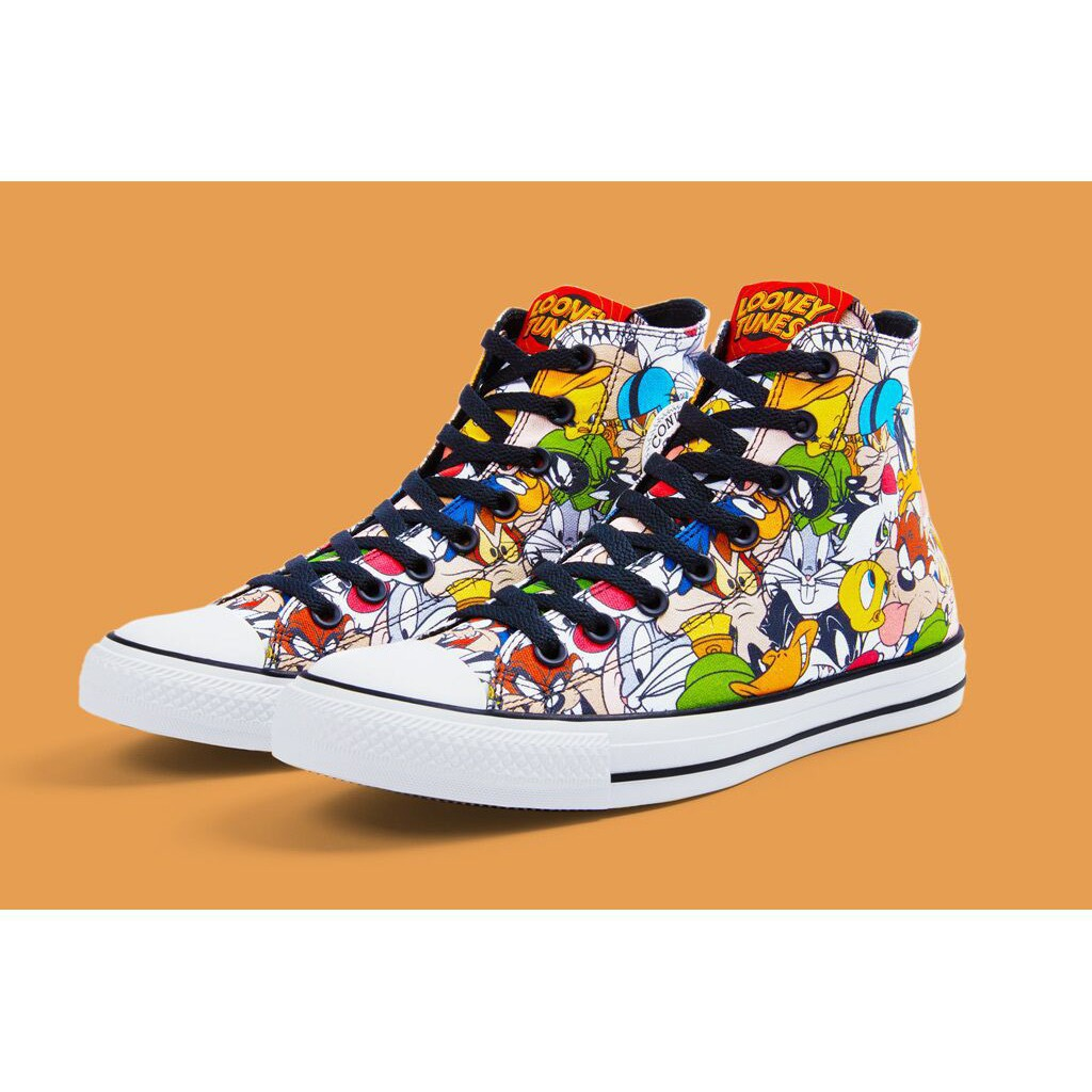 fantastiskt pris billigare väldigt billigt Luece Bugs Bunny Converse shoes High-top shoes Skateboard shoes Multicolor  casual shoes | Shopee Philippines