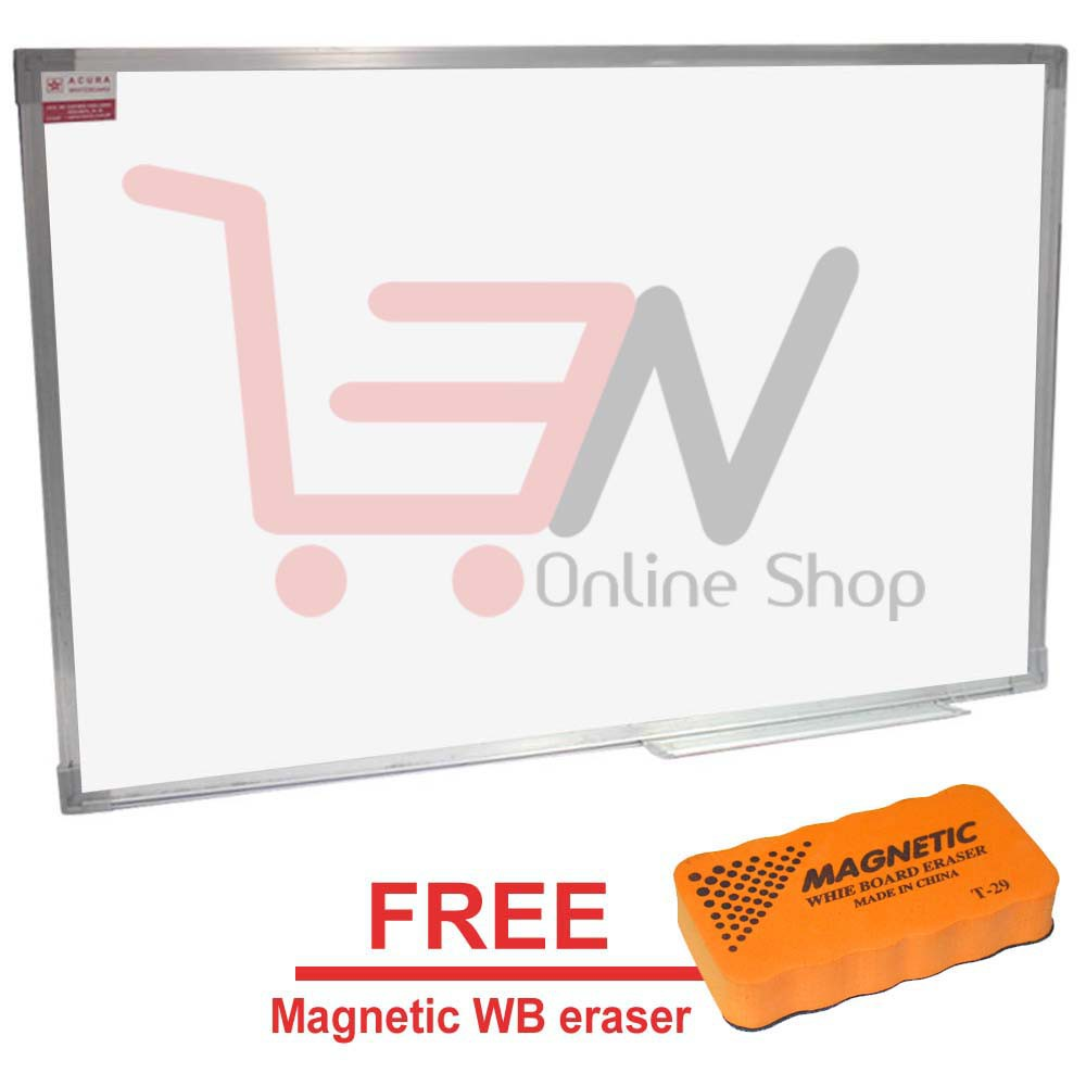 Acura Magnetic Whiteboard 18 X 24 Inches With Aluminum