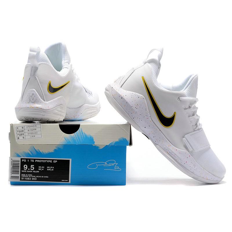ac9b0a7dff74 Nike Paul George PG 1 I TS Prototype EP Dark Blue Gold