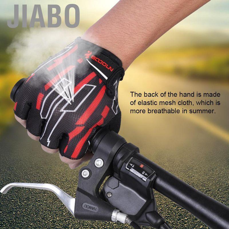 New Half Finger Gel Racing Motorcycle Cycling Bicycle LIB Bike Riding Gloves LI