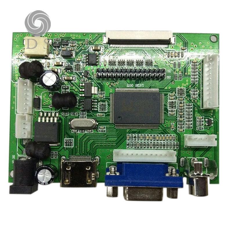 LCD Controller Board AV VGA HDMI TTL 50PIN LVD for Drive LCD Display Screen