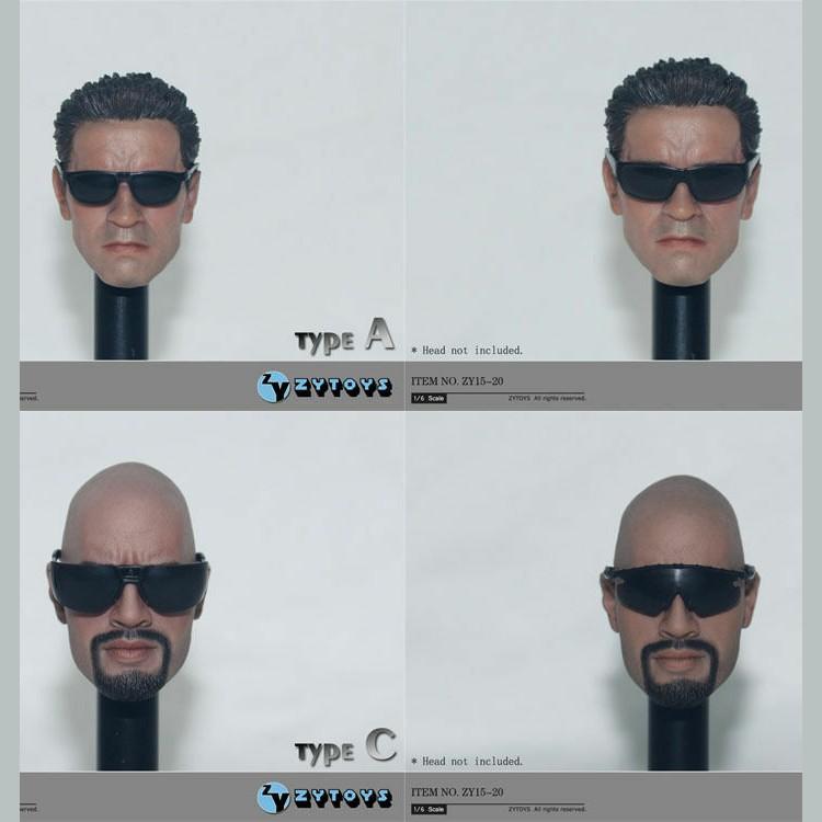1//6 SCALE Black Glasses Sunglasses Accessory for 12/'/' Action Figure Doll