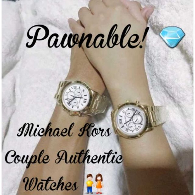 0fa2a1f01e2 ON-SALE!! PAWNABLE Couple MK Michael Kors Authentic Watch ...