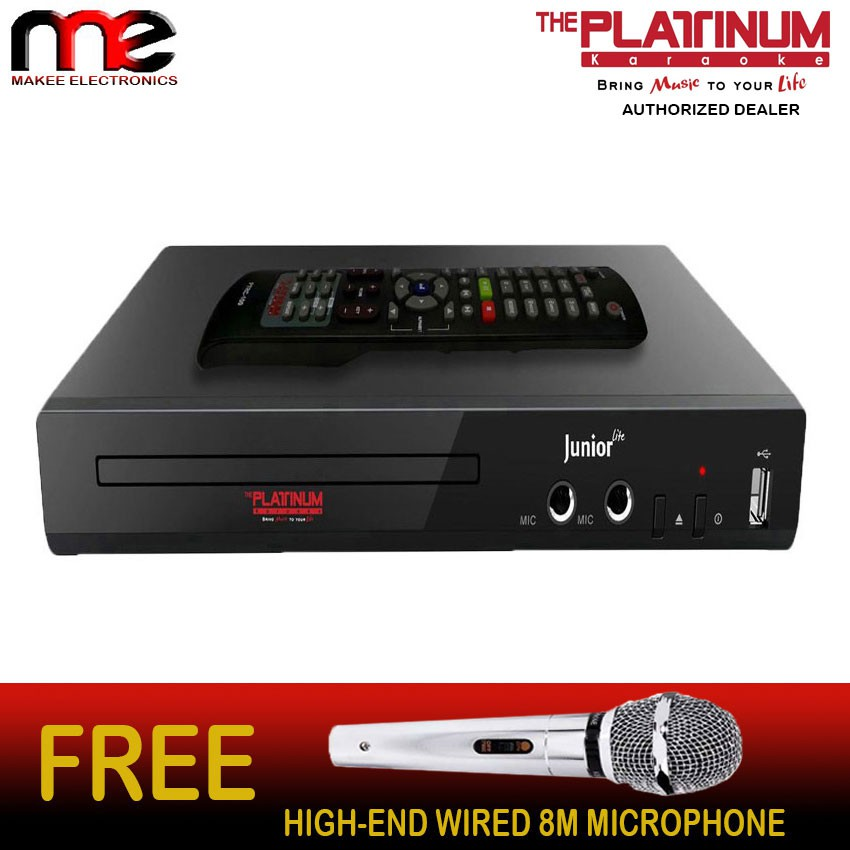 Ace Midi 5863 Karaoke Dvd Player Shopee Philippines