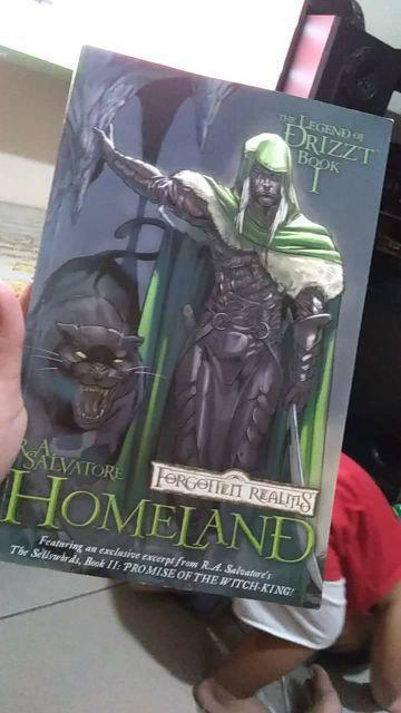 Forgotten Realms - Homeland: Legend of Drizzt Book 1 (TPB