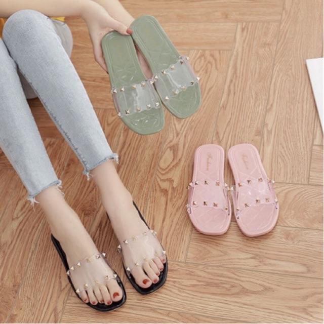 New Fashion Korean Fashion Flat Sandals Shopee Philippines