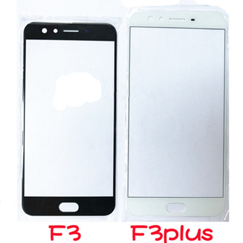Outer LCD Front Screen Glass Lens Cover For OPPO F3 /F3 plus