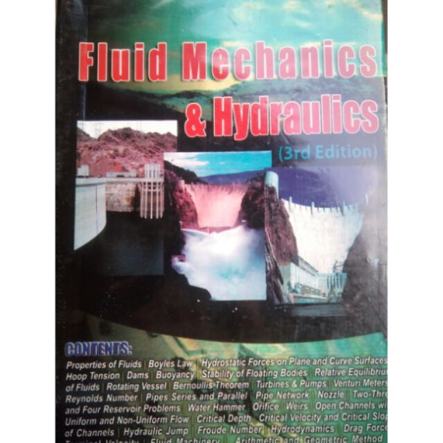 Fluid Mechanics &Hydraulics by Besa