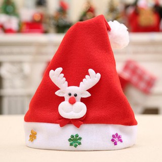 Christmas Hats For Kids.Christmas Kids Hat Christmas Gifts Children Hats Cartoon Caps Kids Hats