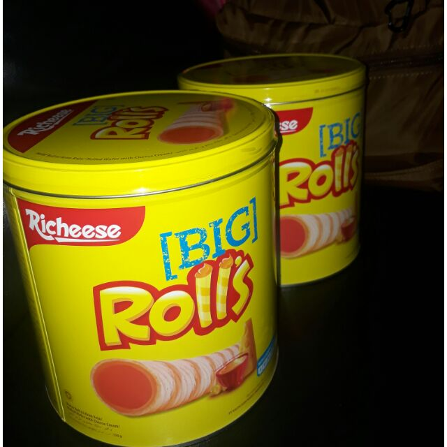 Richeese Big Rolls Cheese Wafer