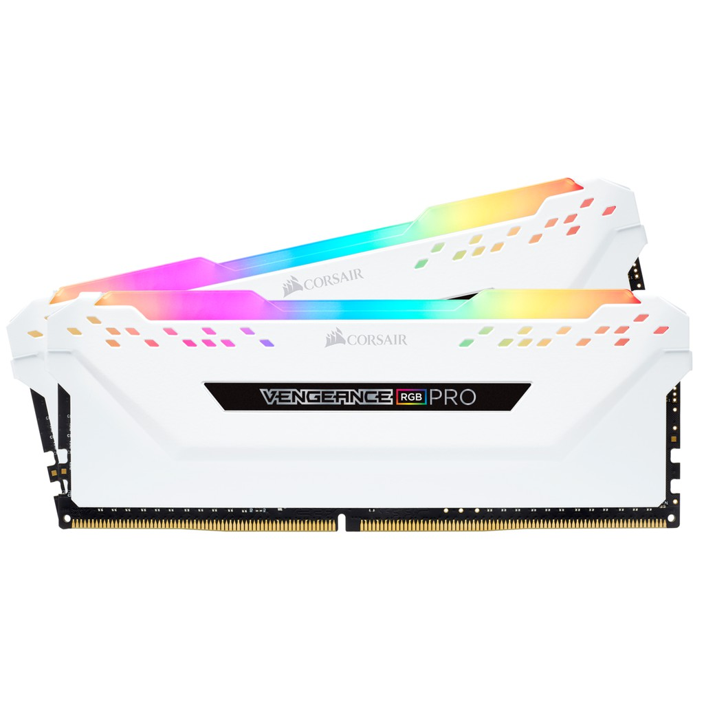 Corsair Vengeance RGB PRO 16GB (2x8GB - 3200MHz DDR4) WHITE | Shopee Philippines