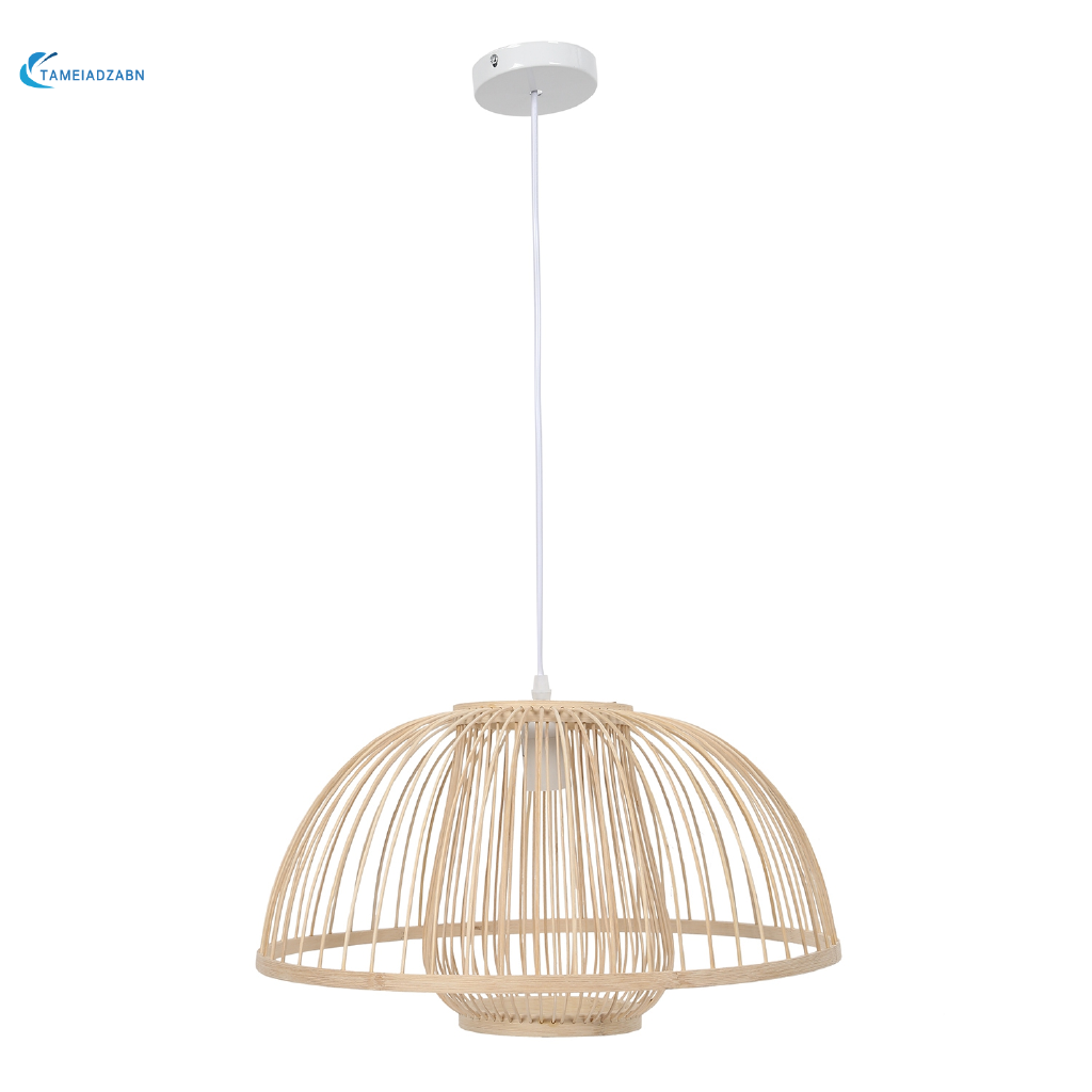 Bamboo Pendant Light Lighting Lampshade Without Bulb Shopee Philippines