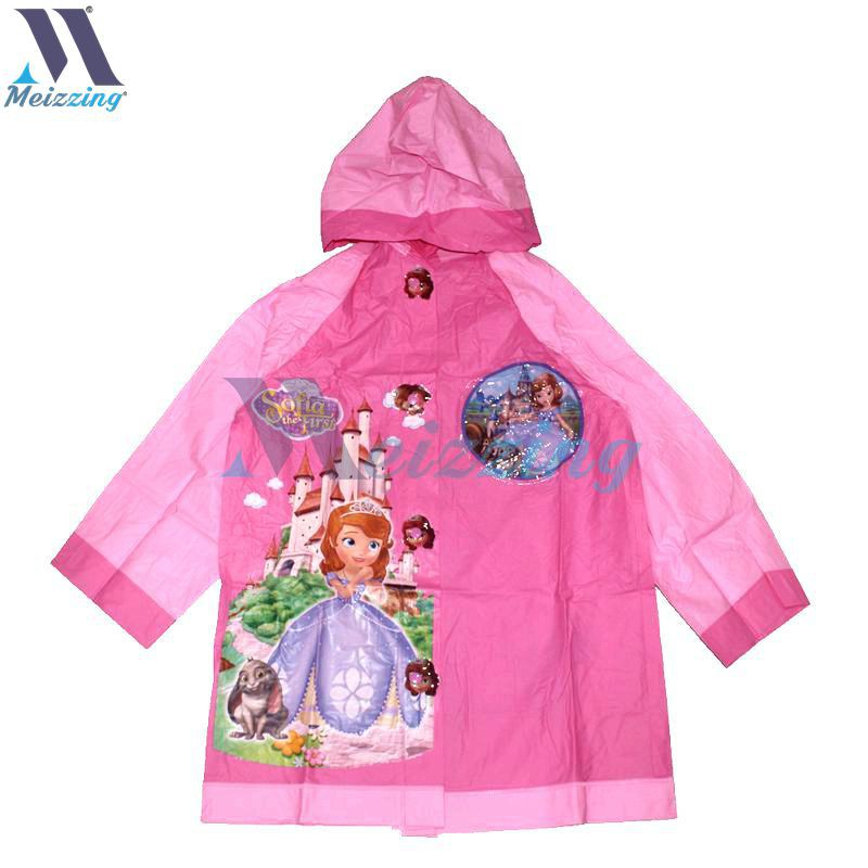 6445517b6e6f Frozen Kids Character Poncho Raincoat w  Bag for Student