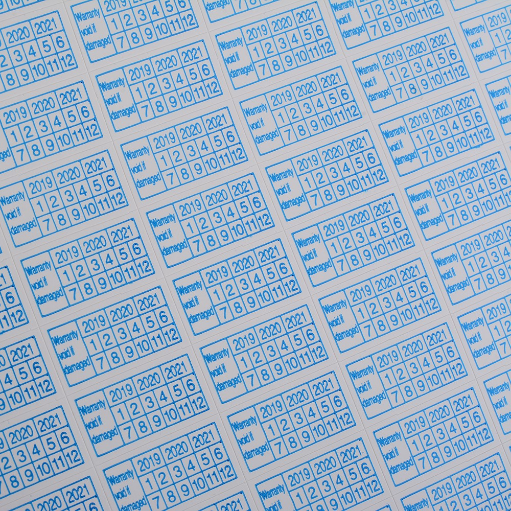 600pcs Warranty Void If Damaged Protection Security Label Sticker