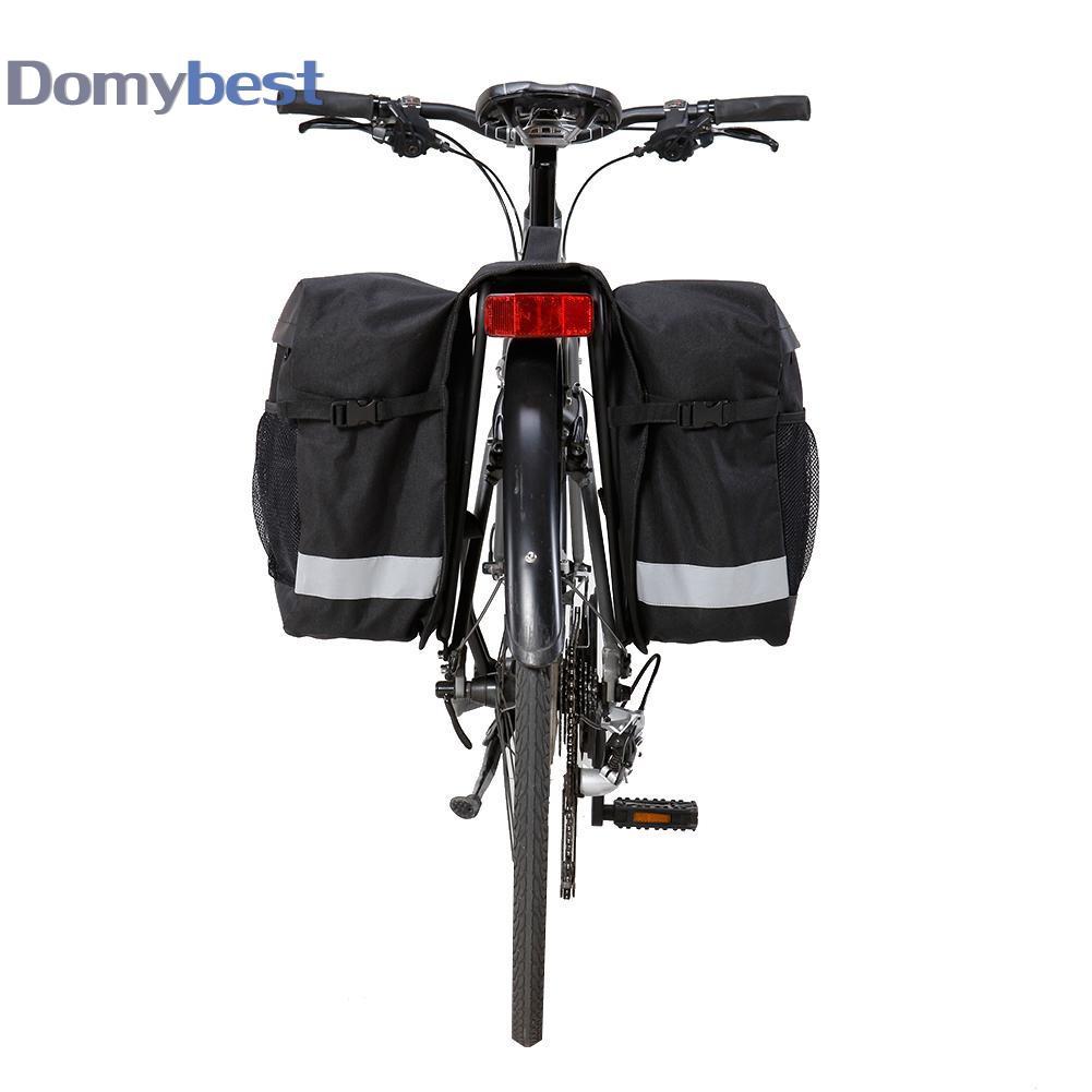 Waterproof Double Panniers Shelf Bag Bike Bicycle Cycle Rear Seat Trunk Rack