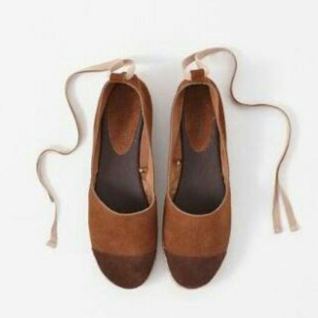 original à chaud gamme exclusive authentique Promod Ankle Strap Suede Espadrille Shoes USA 6 CLEARANCE