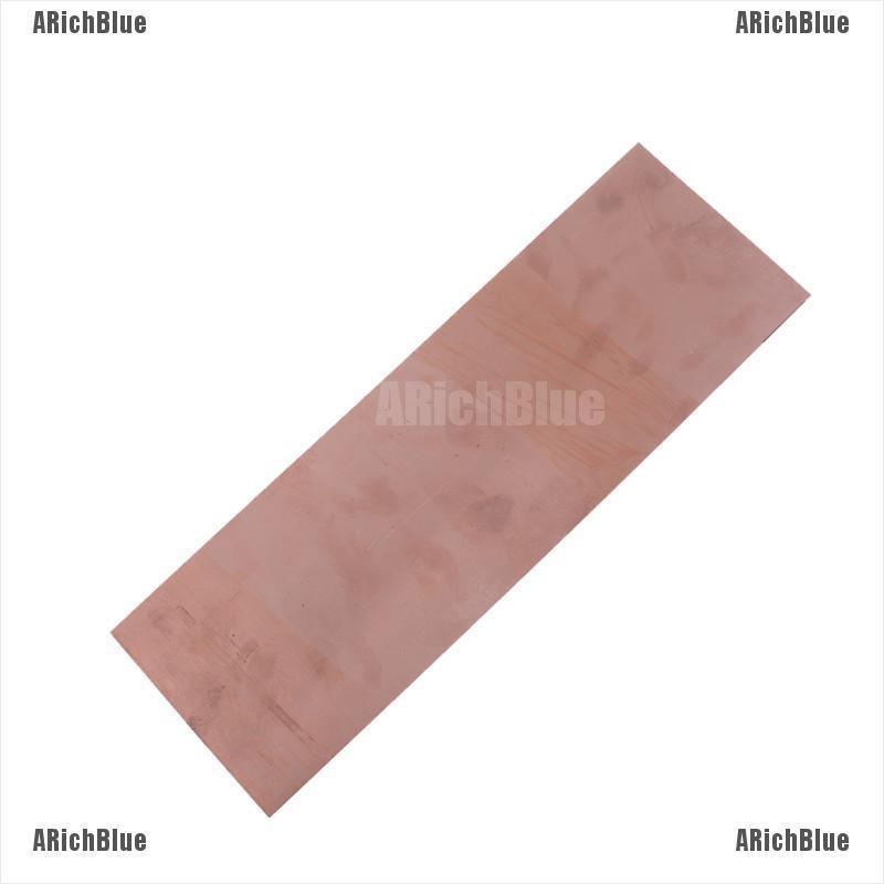 1x 99.9/% Pure Copper Cu Metal Sheet Plate 1.5mm x 100mm x 100mm High Purity