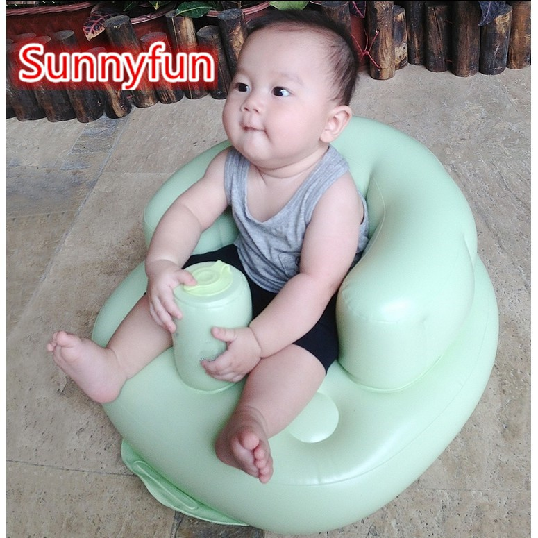 Inflatable sofa chair for baby chair