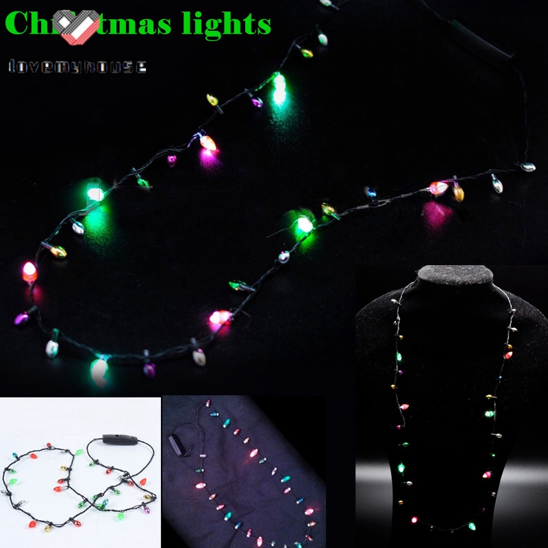 ☁ி☁ 1 Pcs Mini Flashing Light-up Blinking Christmas Lights ...