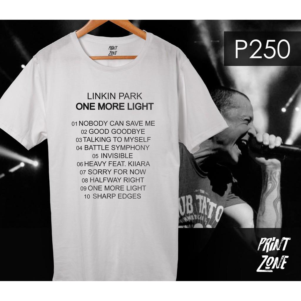 Linkin Park Shirt One More Light Album