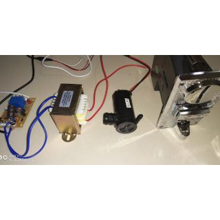 Automatic Tubig Machine Parts With Wiring and Power Supply on