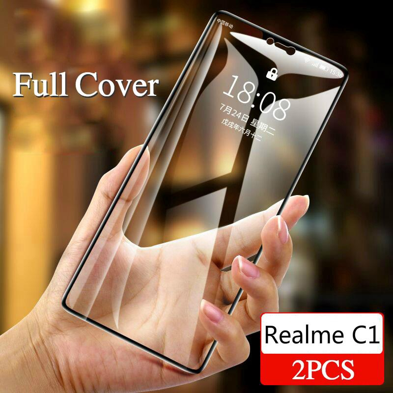 (2Pcs) OPPO Realme C1 Tempered Glass Film Screen Protection