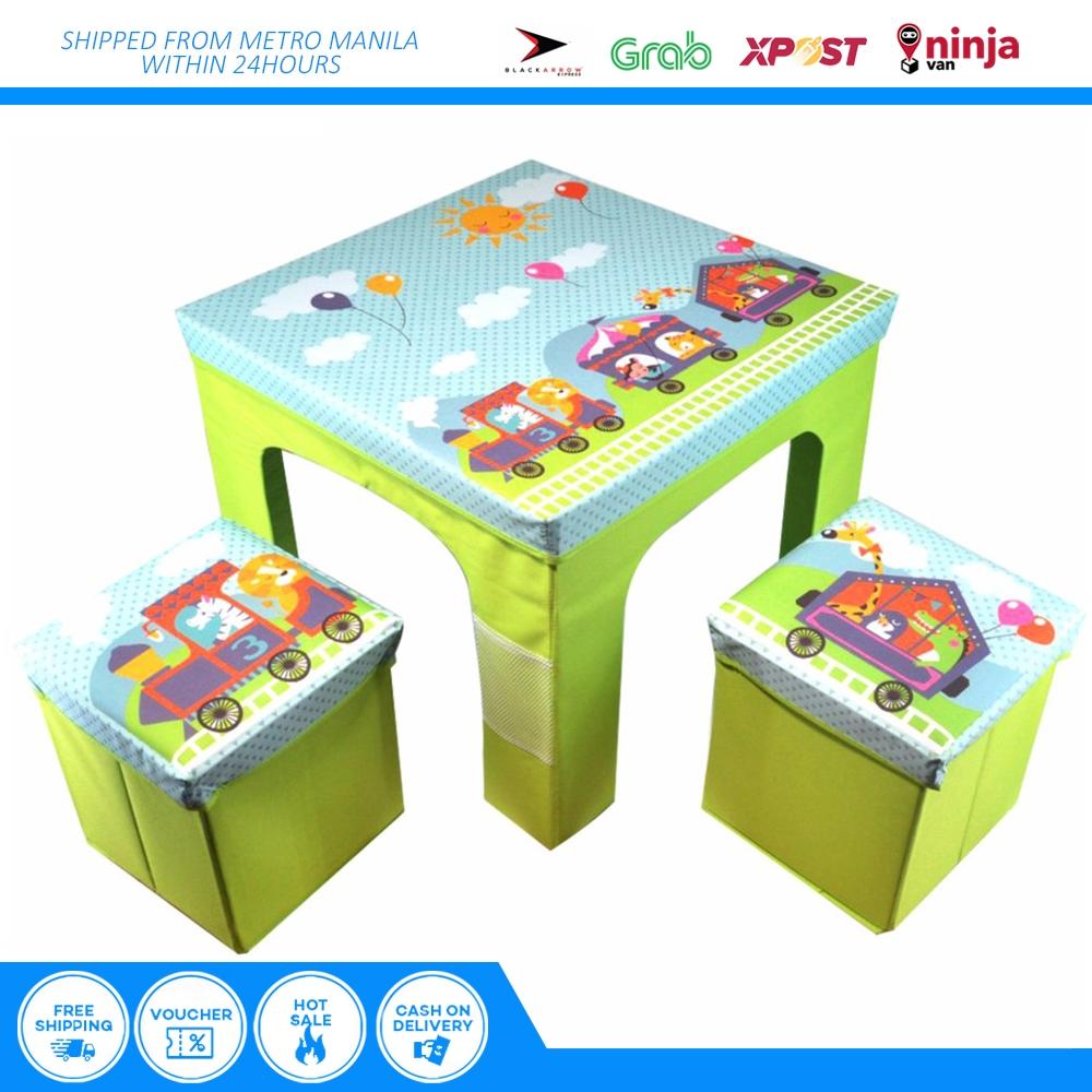Strange Children Deluxe 1Study Table 2 Chair Set W Ottoman Storage Pdpeps Interior Chair Design Pdpepsorg