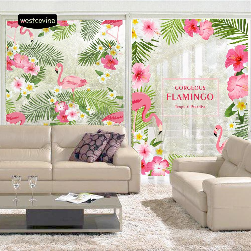 [COD] Window Glass Sticker Removable PVC Decal Room