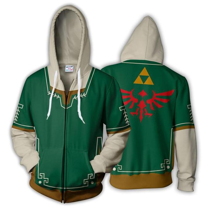 The Legend of Zelda Cosplay Costume Breath of The Wild Link