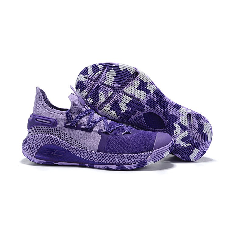 best service f0f4c 7d1dc Under Armour Curry 6 Violet (OEM) Authentic Quality