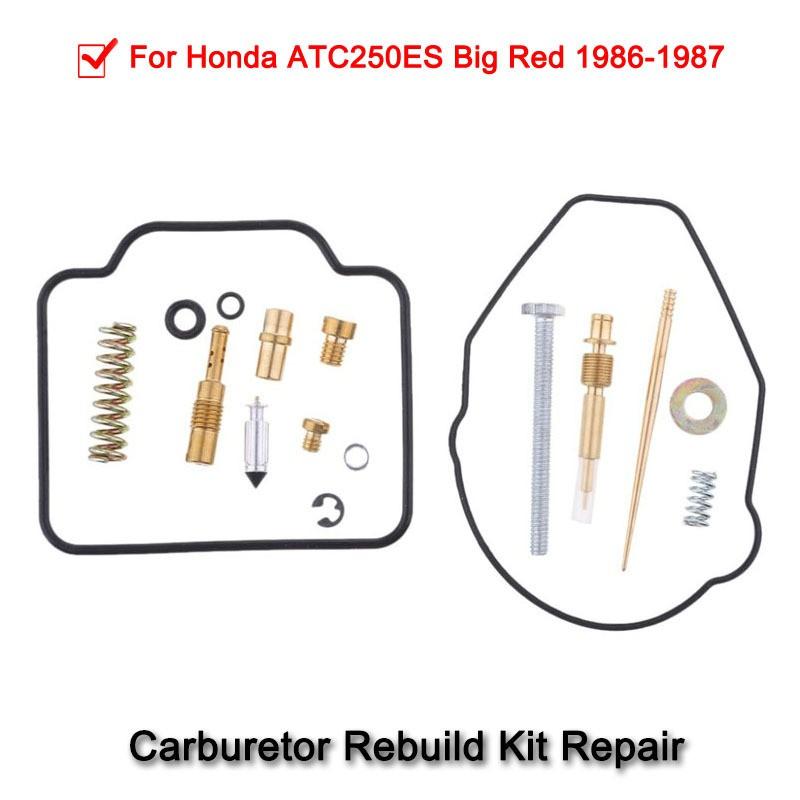 Carburetor Rebuild Kit Carb Repair fit for Honda ATC 250ES 1986-1987
