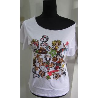 e74905a416736 tokidoki x Hello Kitty Safari Off Shoulder Shirt