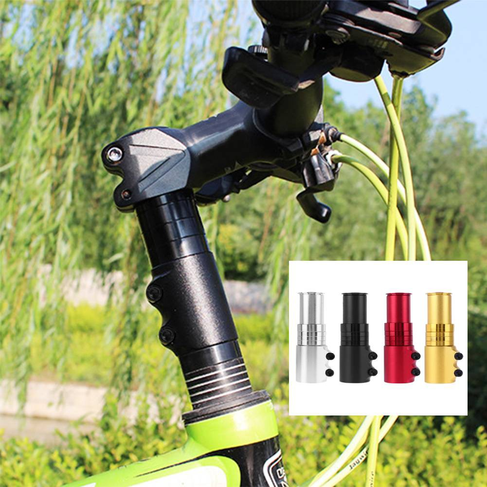 Mountain Bicycle Fork Stem Extender MTB Bike Handlebar Riser Head Up Adapter