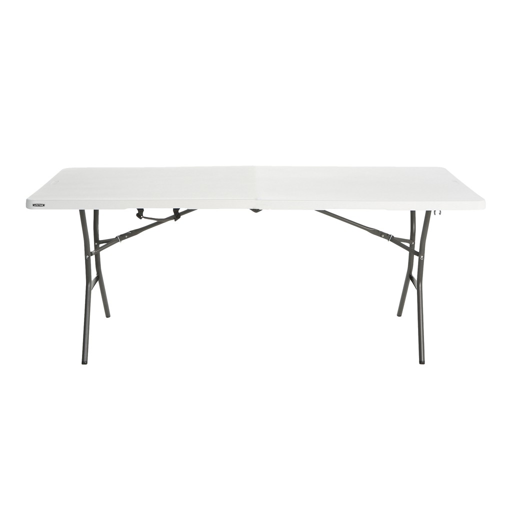 Lifetime 6 Ft Solid Top Table White Shopee Philippines