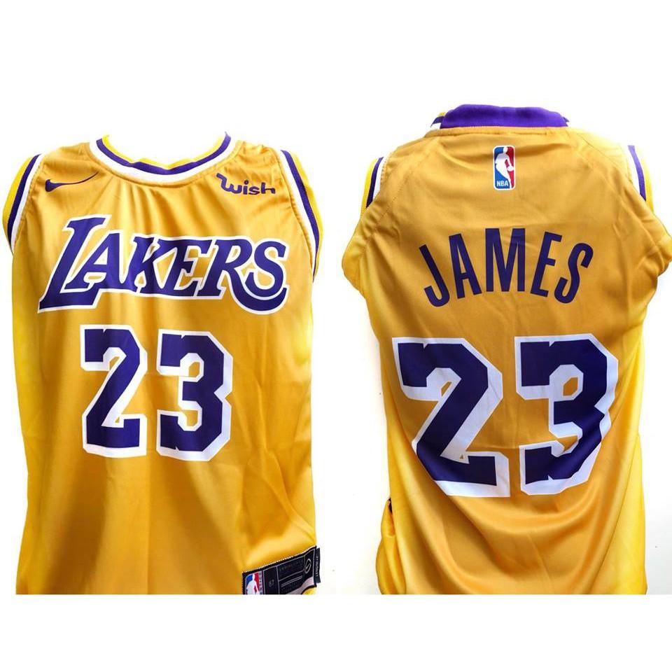 LEBRON JAMES  23 Los Angeles LAKERS Shirt!  3bc8b872023