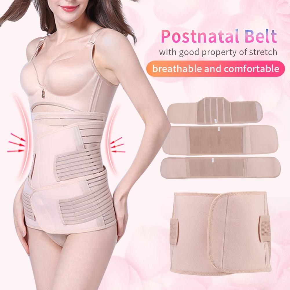 46195a3b55 Postpartum Girdle Tummy Belly Corset Waist Cincher Slimming