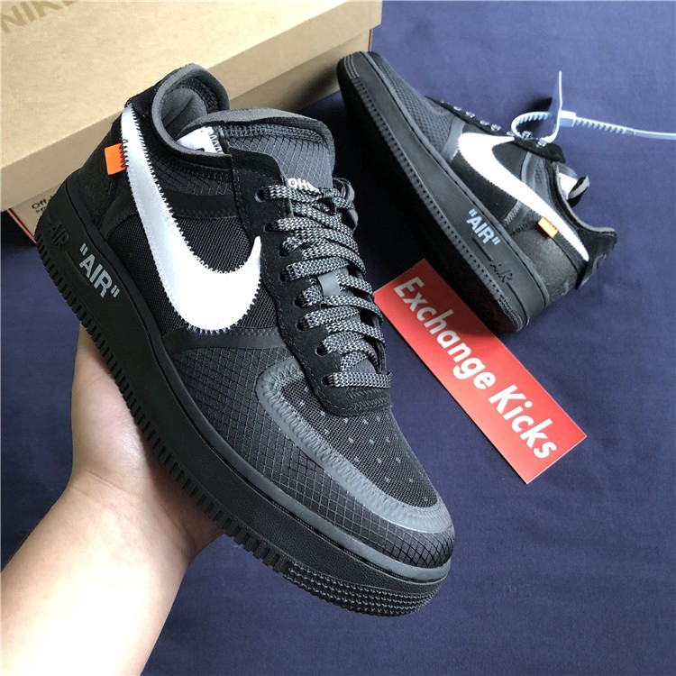 OFF WHITE x Nike Air Force 1 AF1 OW Limited Edition A04606