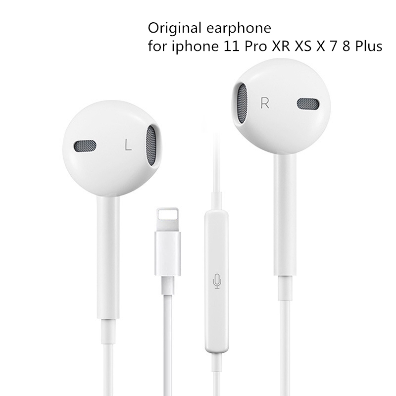 3 5mm Original Earphone For Apple Iphone 11 Pro 6 7 8 Plus X Xr Xs Max In Ear 8 Pin Headphones Shopee Philippines