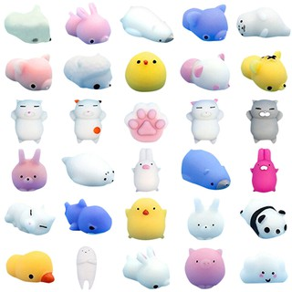30pc Mini Cute Squeeze Funny Toy Soft Stress And Anxiety Relief Toys Diy Decor